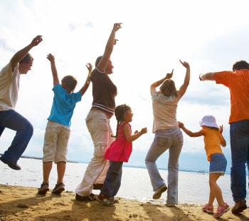 Reencuéntrate con tu familia a través del mundo